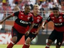 O Flamengo, do atacante, Wendel, comemorou o título da Copinha no ano passado. Foto: Divulgação
