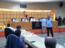 Pedidos foram aprovados por 19 dos 21 vereadores presentes na sessão. Foto: Angelica Richter especial para o DR
