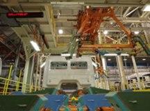 Linha de montagem ganhou tecnologias de automação da quarta revolução industrial. Foto: Reprodução/MBB