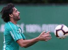 Ricardo Goulart será novamente o armador da equipe. Foto: Cesar Greco/Agência Palmeiras