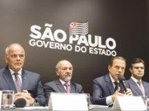 Doria: medida torna mais ágil atendimento a ocorrências. Foto: Governo do Estado de São paulo