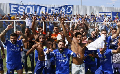 Santo André perde do Água Santa, mas está de volta à elite do Campeonato Paulista