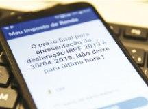 App Meu Imposto de Renda pode ser baixado das lojas Google Play e Apple Store. Foto: Marcello Camargo/ABr