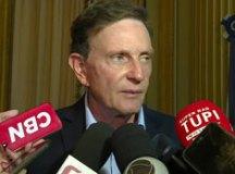 """Crivella afirmou que Reis """"foi exonerado recentemente"""" da prefeitura e sugeriu que o servidor fez o pedido como retaliação. Foto: Reprodução/TV"""