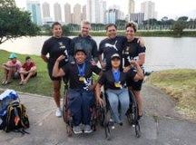 Luís Carlos e Débora conquistaram quatro medalhas de ouro. Foto: Divulgação
