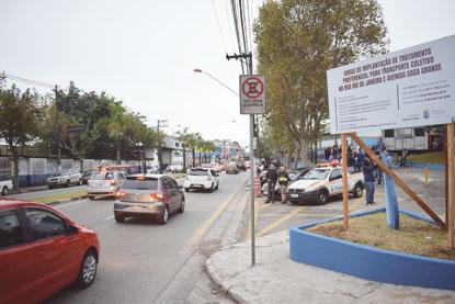 Com investimento de R$ 12,9 mi, Diadema inicia corredor de ônibus na Av. Casa Grande