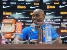 """Vagner Love: """"Vai ser um time competitivo"""". Foto: Agência Corinthians"""