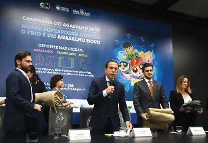 Campanha é uma iniciativa do Fundo Social de São Paulo. Foto: Divulgação