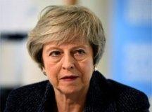 """""""Continuarei a servir como primeira-ministra até que o processo esteja concluído"""", disse Theresa May. Foto: Reprodução"""