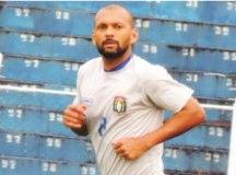 """Esley: """"Precisamos jogar bola e tentar nos impor em campo"""". Foto: Fabrício Cortinove/AD São Caetano"""