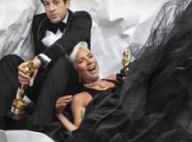 Mark Ronson e Lady Gaga na premiação do Oscar .Foto: Instagram/Mark Ronson