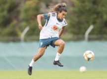 Marta deve voltar após desfalcar o time contra a Jamaica. Foto: Rener Pinheiro/MoWA Press