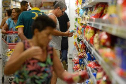 Inflação oficial de maio cai a 0,13%, menor taxa para o mês em 13 anos