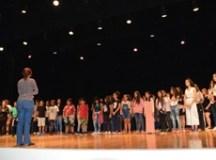 Teatro Municipal recebe primeiro dia de apresentações de fim de semestre do Programa Guri