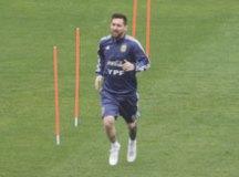 Messi não será poupado e vai para o jogo em Itaquera. Foto: NIlton Fukuda/Estadão Conteúdo