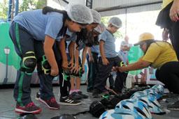 Circuito Itinerante de Mobilidade inicia programação de férias neste feriado na Chácara Pignatari