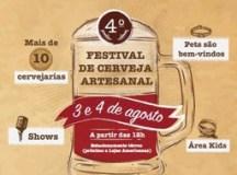 Shopping D recebe neste fim de semana a 4º Edição do Festival de Cervejas Artesanais