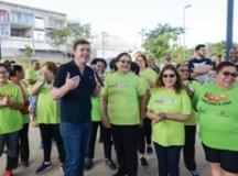 Morando entrega nova Academia da Saúde, no Jardim Nazareth