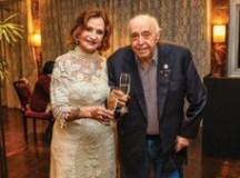 Rosamaria Murtinho e Mauro Mendonça comemoram 60 anos de casamento