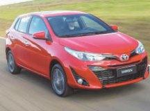 Toyota Yaris é o hatch com a menor depreciação