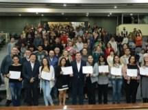 Morando entrega certificados de capacitação profissional para mais de 200 alunos do Emprega São Bernardo