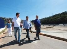 Prefeitura de Santo André acelera obras da Operação Prestes Maia