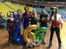Poliesportivo recebe festa de Halloween e Corujão do Patins neste fim de semana