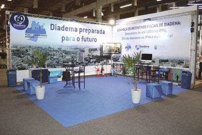Diadema apresenta Plano de Desenvolvimento durante feira de tecnologia em São Paulo
