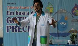 Peça infantil gratuita sobre a importância da água é encenada em escolas de São Bernardo
