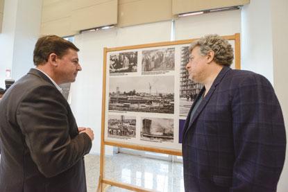 Morando resgata história dos 50 anos do Paço com reabertura do Salão Nobre