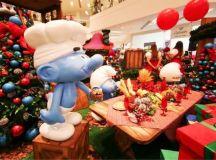 Atrium Shopping lança o Natal dos Smurfs, com sorteio de carro VW T-Cross, Festa para o o Papai Noel e mais atrações