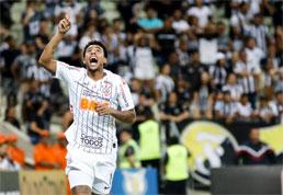 Corinthians derrota o Ceará, ajuda o Cruzeiro e garante vaga na Libertadores