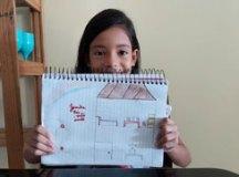 Unicef convida crianças a desenhar como se sentem na quarentena