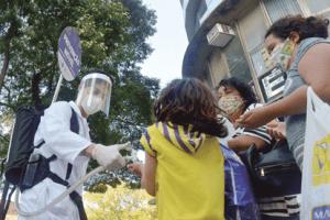 Santo André realiza prevenção móvel contra o coronavírus