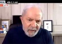 Lula afirma que não dá para aceitar a ideia de que o Bolsonaro é resultado de um processo amplamente democrático