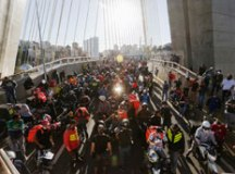 Motoboys convocam paralisação para esta terça, a segunda em um mês