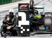Bottas supera Hamilton na Áustria e conquista a 1ª pole na temporada da F-1