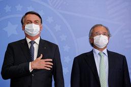 Bolsonaro: extensão de auxílio ficará entre R$ 200 e R$ 600