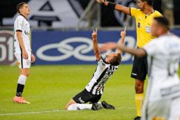 De virada, Atlético-MG vence na estreia do Corinthians no Brasileiro