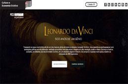 Exposição 'Da Vinci - 500 Anos' ganha formato digital