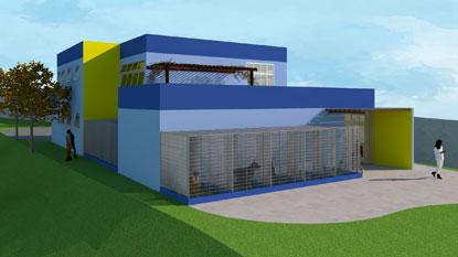 Verba será destinada, entre outros projetos, ao Hospital Veterinário Municipal, que funcionará no Parque Central. Foto: Divulgação