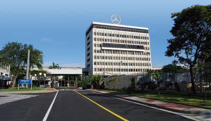 Mercedes-Benz registra queda de 11% nas vendas de caminhões e de 34% nas de ônibus. Foto: Divulgação/Mercedes