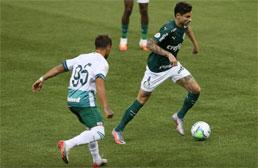 Palmeiras cria pouco, não aproveita desfalques do Goiás e só empata