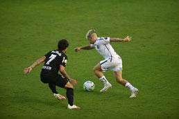 Na estreia de Cuca, Santos cede empate ao Red Bull Bragantino