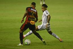 Com golaço de Marinho, Santos supera o Sport no Recife