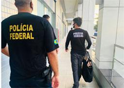 Operação é feita em São Paulo, Maceió e no Rio de Janeiro. Foto: Divulgação/Polícia Federal/ABr
