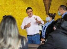 Reunião é uma preparação dos pré-candidatos do partido para a campanha eleitoral que começa na próxima semana. Foto: Divulgação