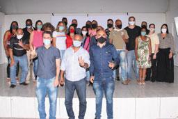 cerimônia reforçou a frente de renovação política na cidade, anunciada na semana passada. Foto: Divulgação