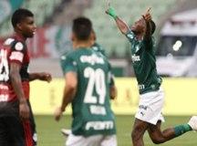 Após batalha jurídica, Palmeiras empata em casa com desfalcado Flamengo