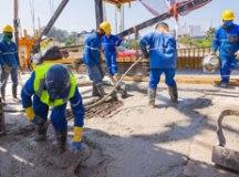 Duas novas faixas de tráfego que irão transpor a avenida dos Estados e o rio Tamanduateí vão proporcionar maior fluidez ao tráfego no primeiro e segundo subdistrito. Foto: Alex Cavanha/PSA